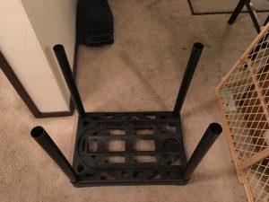 plastic rack